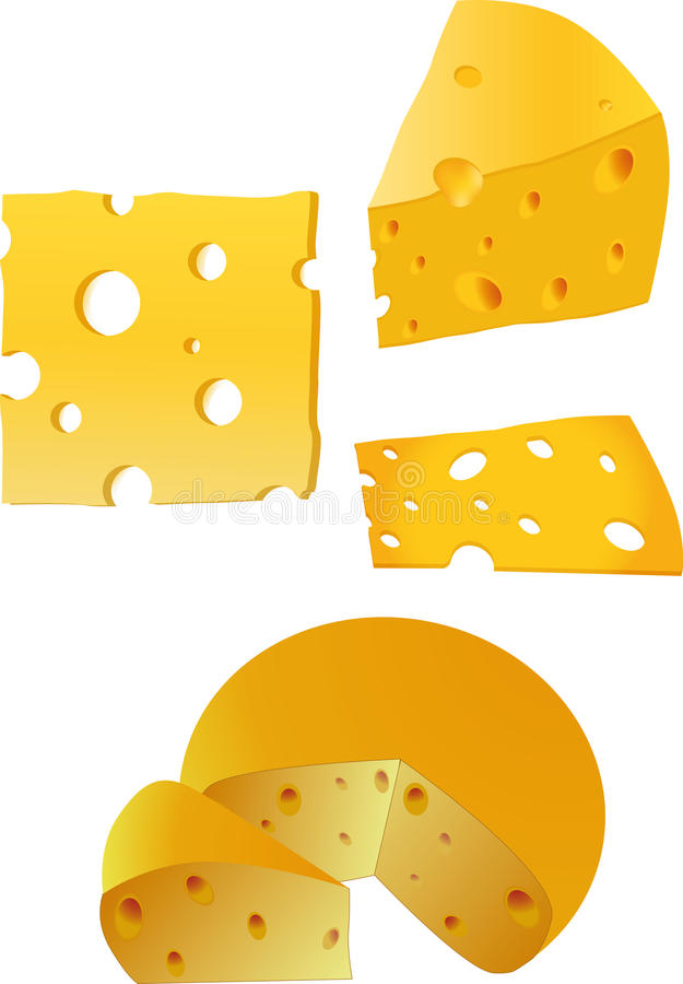 Download Cheese stock vector. Image of crust, cheddar, culture - 12723848