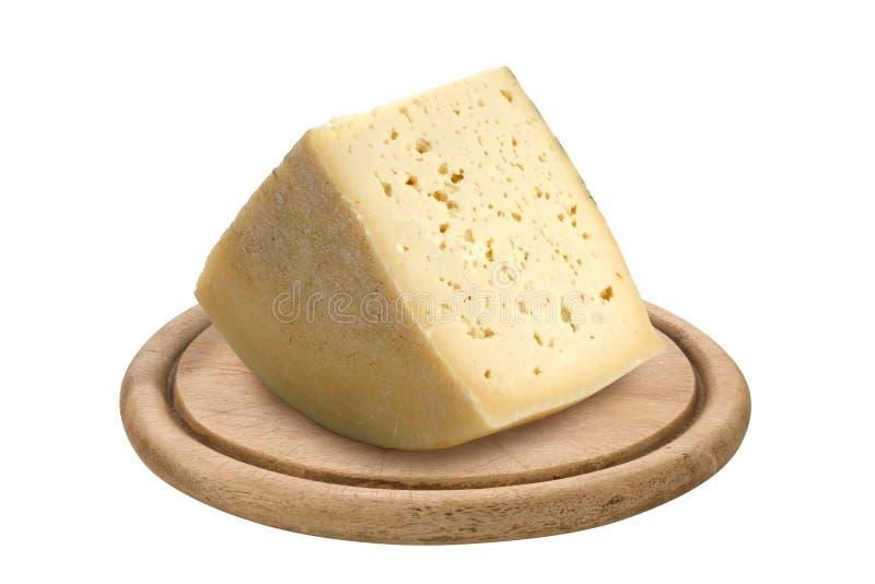 Cheese. Italian cheese Montasio, product of Friuli region stock photography