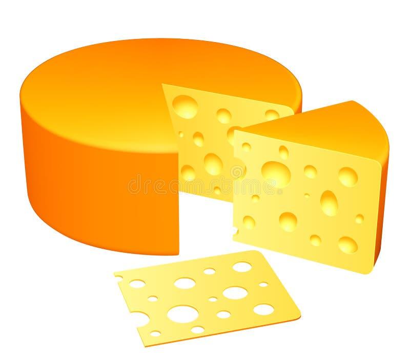 Cheese. stock illustration
