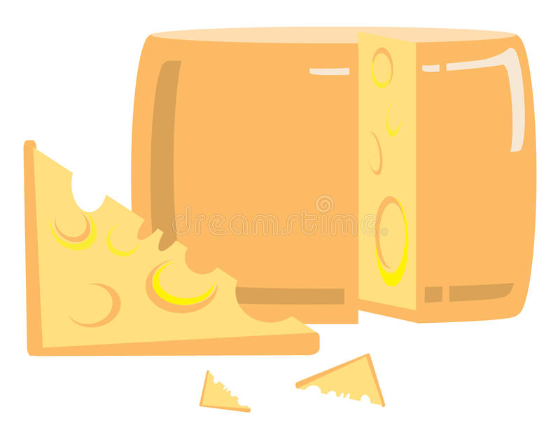 Download Cheese stock vector. Image of image, fresh, cartoon, cheese - 23780681