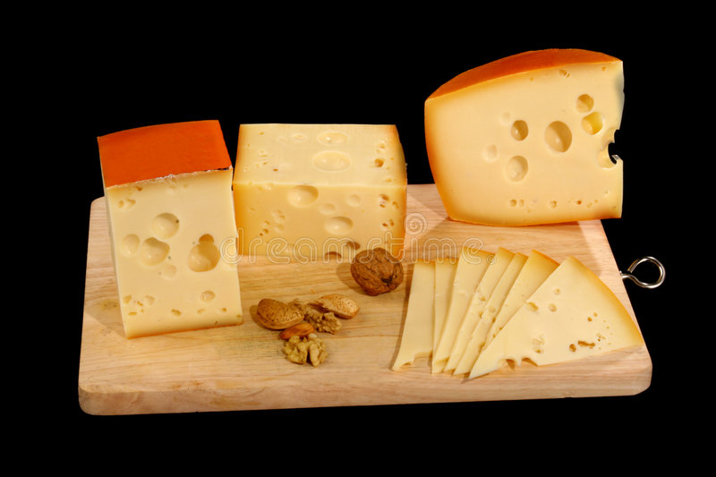 Download Cheese stock image. Image of dieting, piece, crackers - 4601205