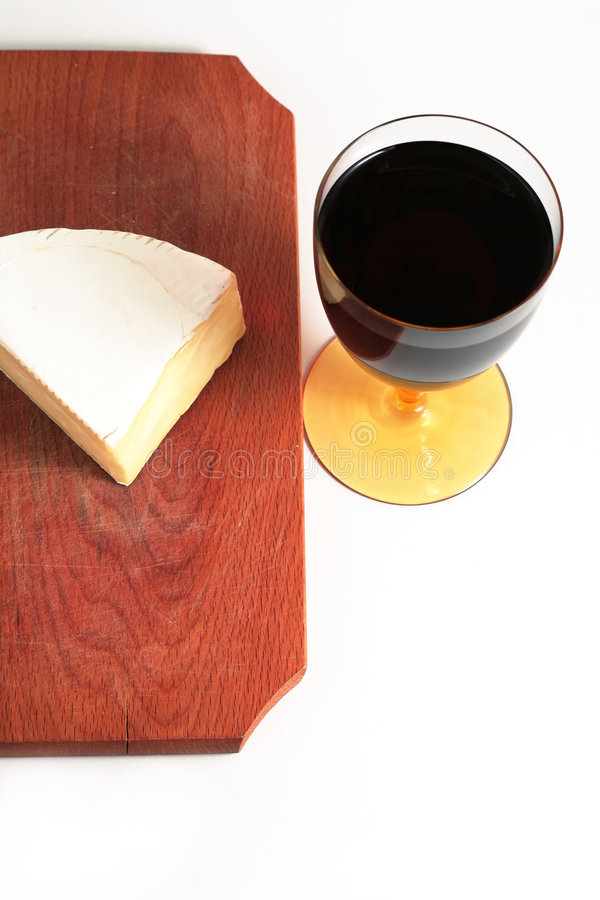 Free Cheese And Red Wine Royalty Free Stock Photography - 1895397