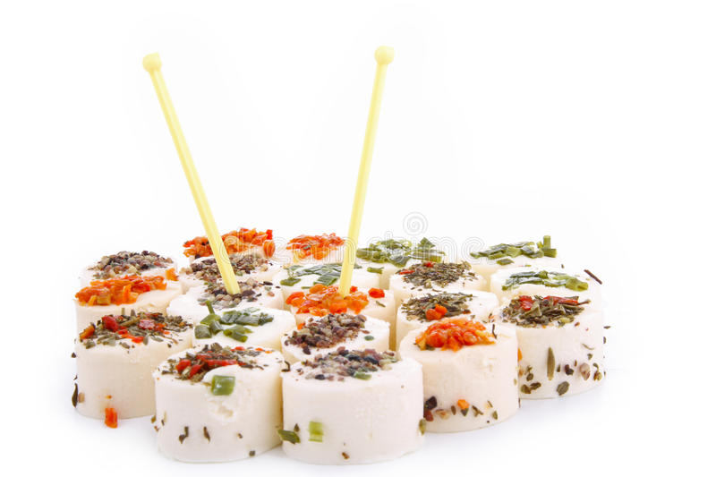 Cheese appetizer royalty free stock photography