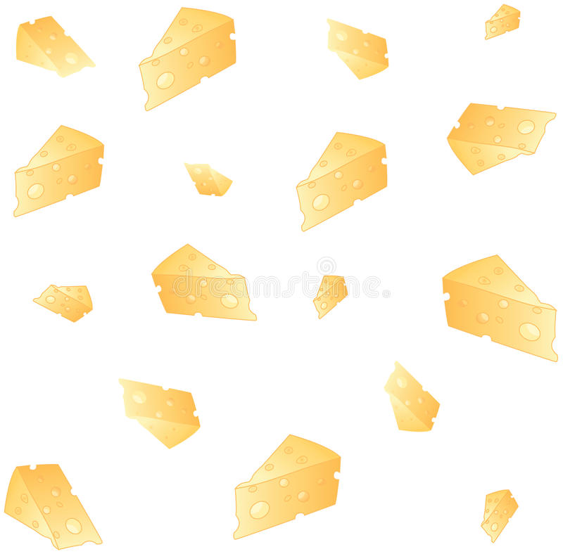 Cheese background illustration royalty free stock photos