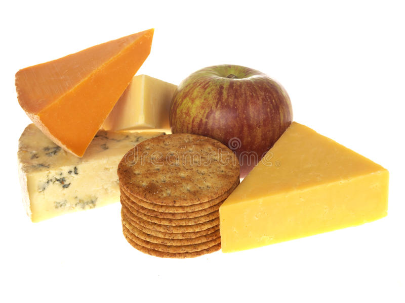 Download Cheese and Biscuits stock photo. Image of life, whole - 24545596