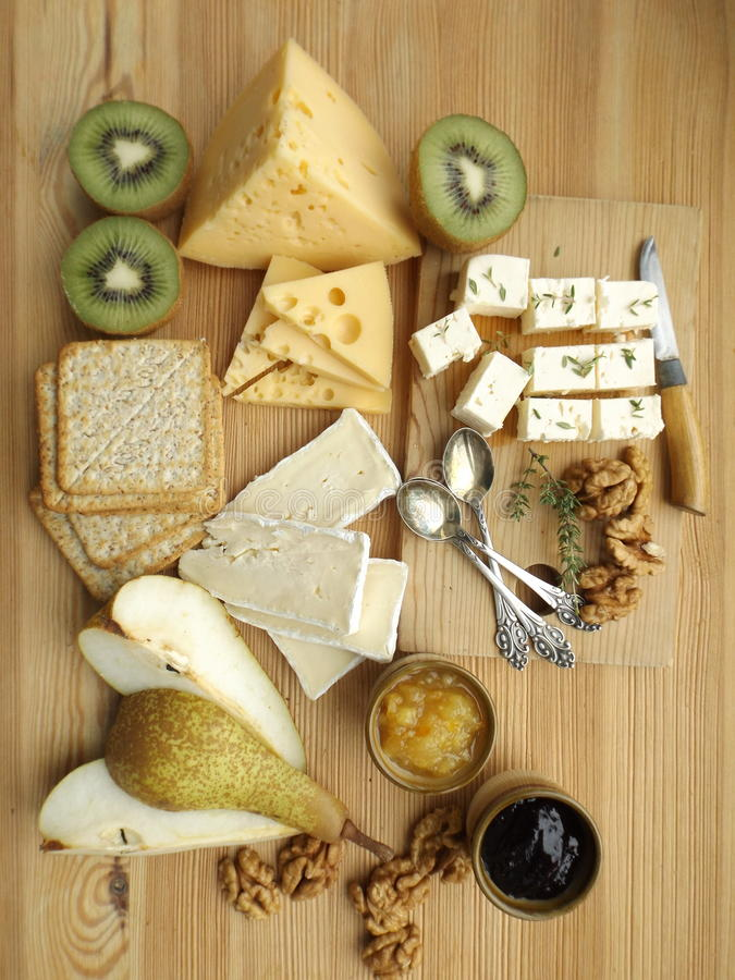 Free Cheese Board Stock Image - 85942411