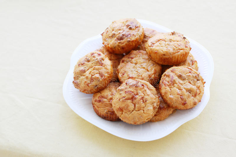 Download Cheese burger muffins stock photo. Image of snack, muffins - 22862572