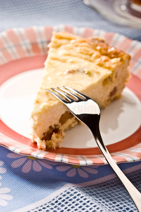 Download Cheese-cake stock image. Image of plate, cheese, dessert - 14948885