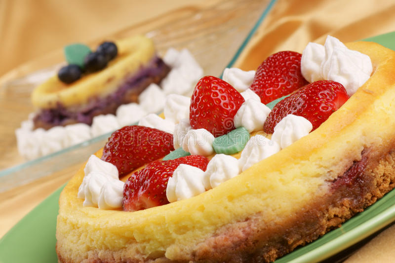 Cheese cakes royalty free stock image
