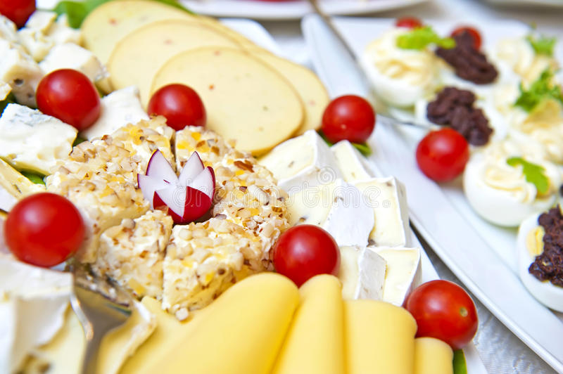 Cheese collection royalty free stock photography