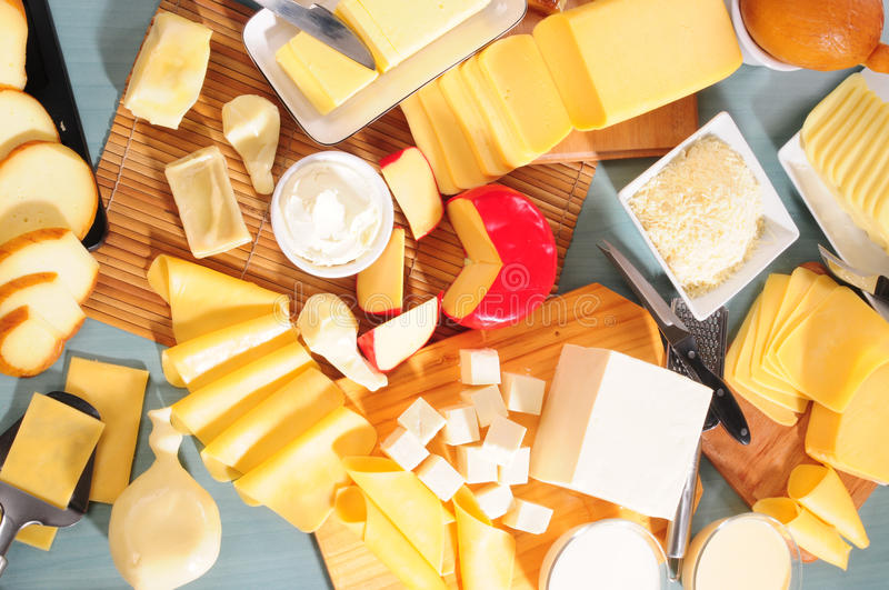 Cheese collection. Series,see more... royalty free stock photography
