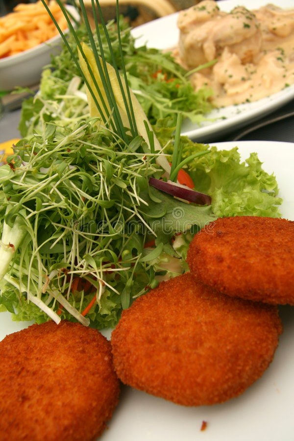 Cheese Croquettes Royalty Free Stock Photo