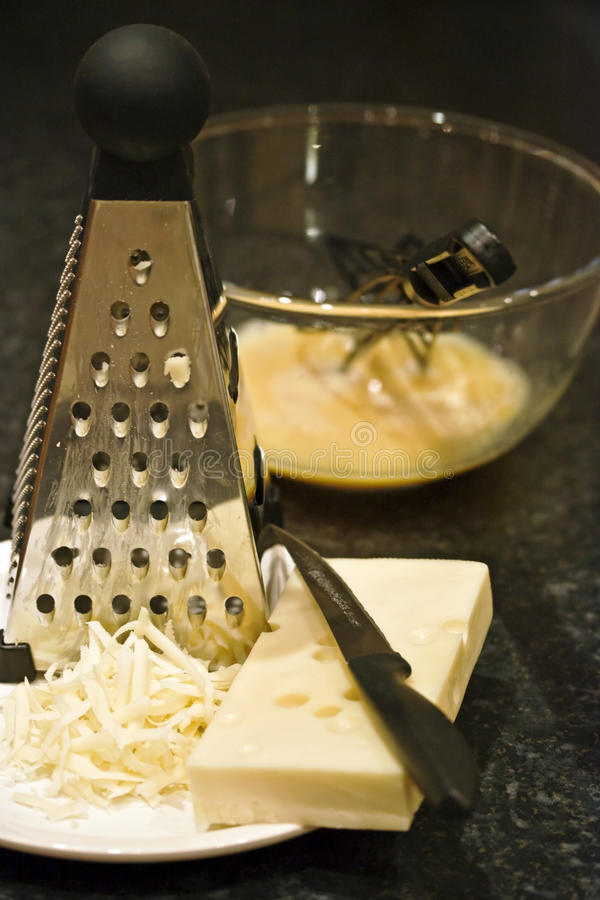 Download Cheese and eggs stock photo. Image of whisked, grated - 16659004