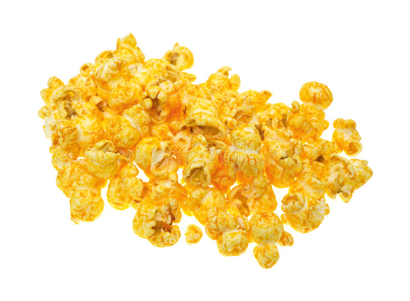 Cheese Flavored Popcorn Stock Photos