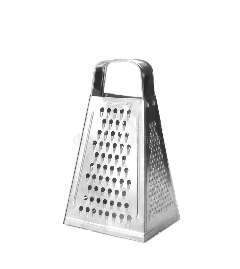Cheese grater isolated. On white stock images