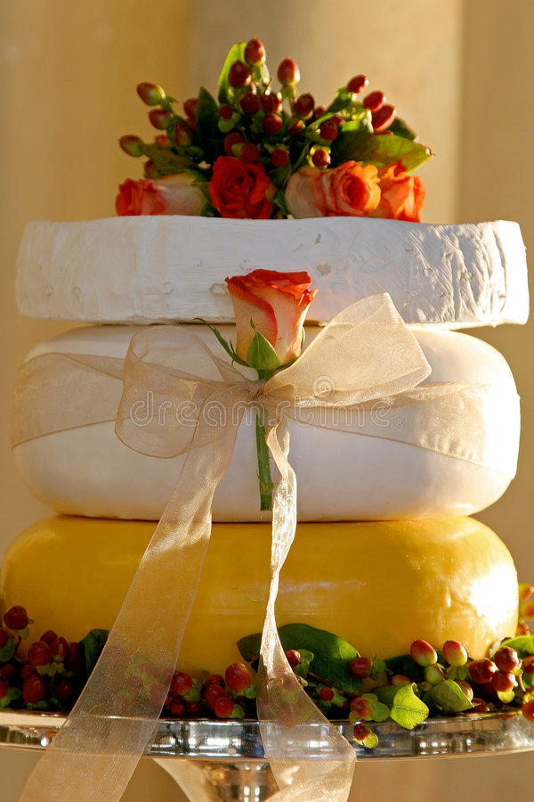 Cheese Layer stock image