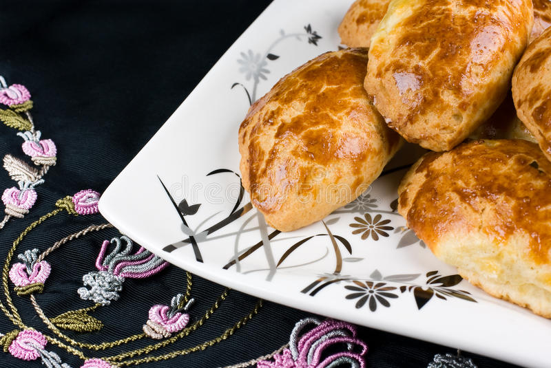 Cheese pastries royalty free stock image