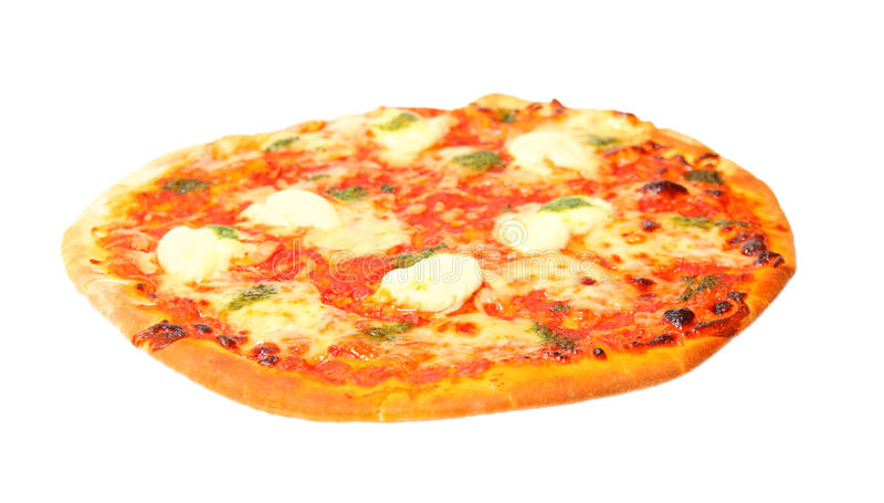 Cheese pizza stock photo
