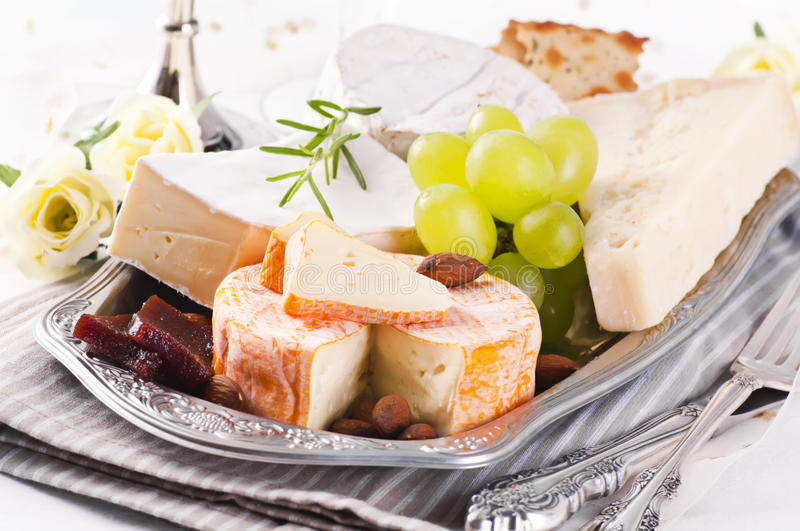 Download Cheese Plate stock image. Image of cheese, different - 21032893