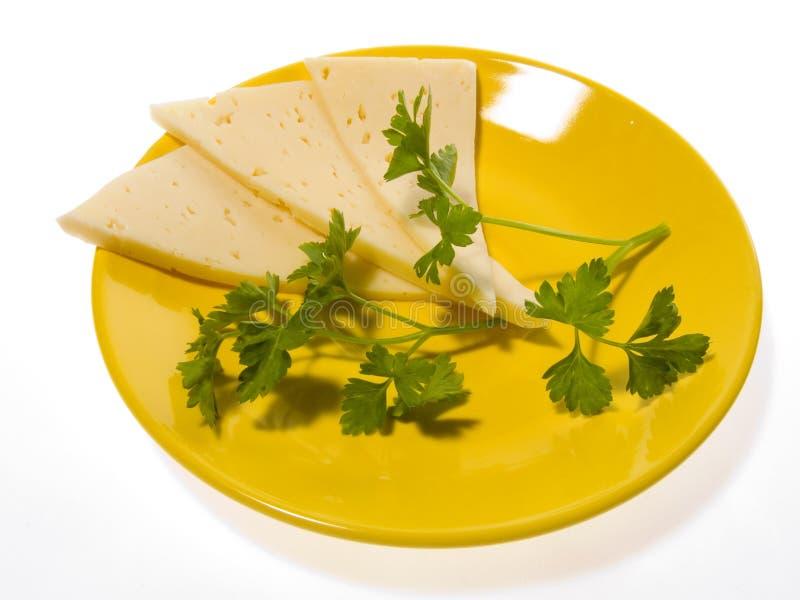 Cheese a plate stock photos