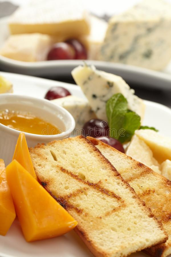 Download Cheese Plate With Grapes Stock Photos - Image: 18772313
