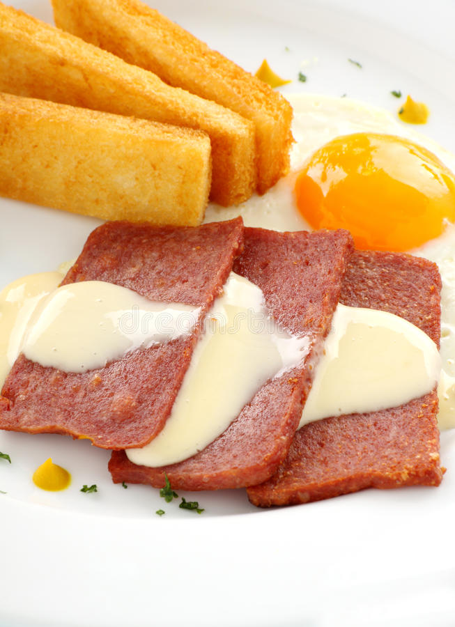 Download Cheese Sauce And Spam Royalty Free Stock Images - Image: 18603269