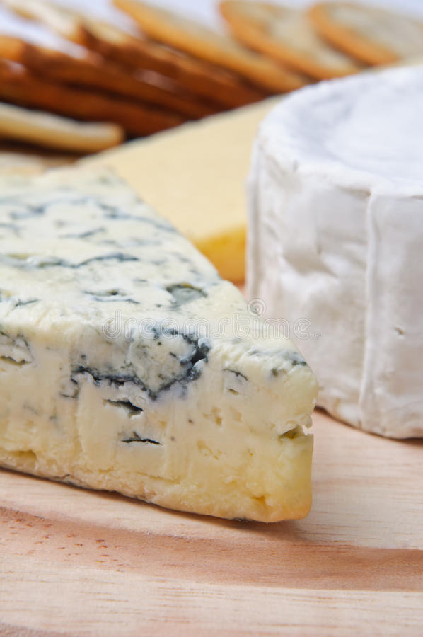 Download Cheese Selection With Crackers Stock Image - Image: 18272187
