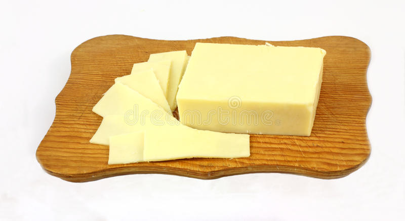 Download Cheese Slices Cutting Board Stock Photo - Image: 14644428
