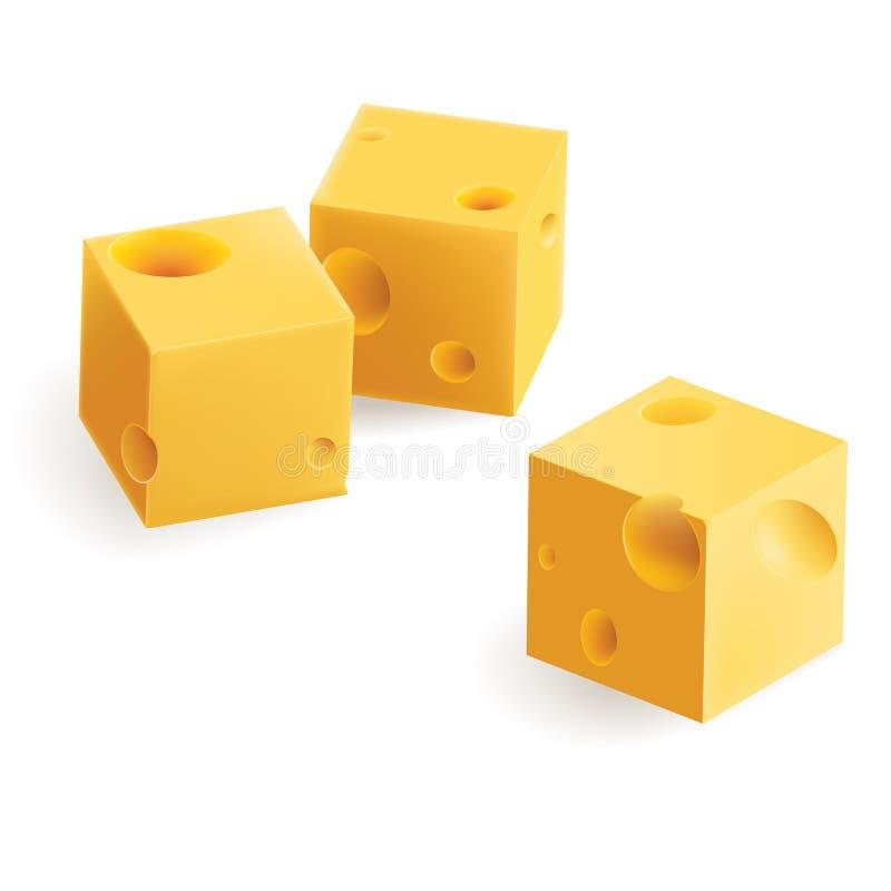 Download Cheese snack stock vector. Image of breakfast, nobody - 18979298