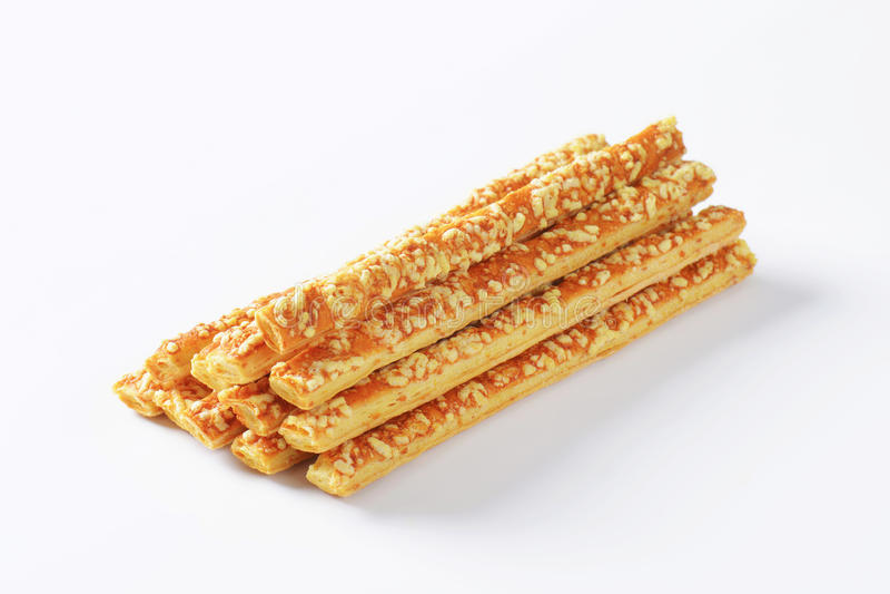 Cheese sticks stock image