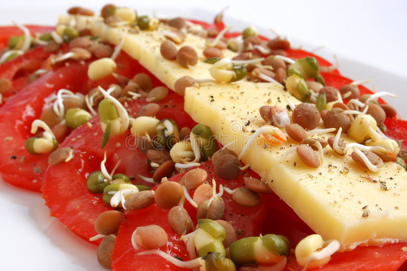 Download Cheese And Tomatoe Stock Photos - Image: 4274453