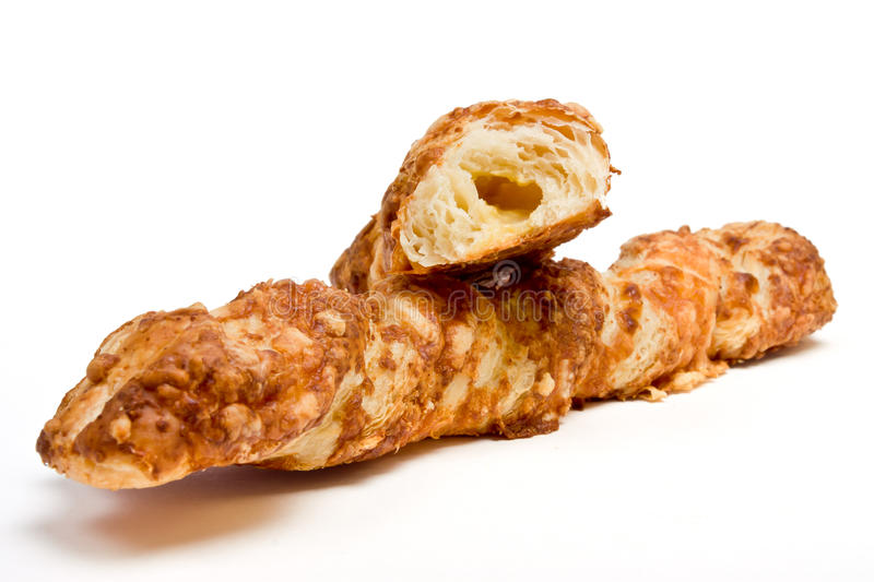Cheese Twist Pastry Stock Images