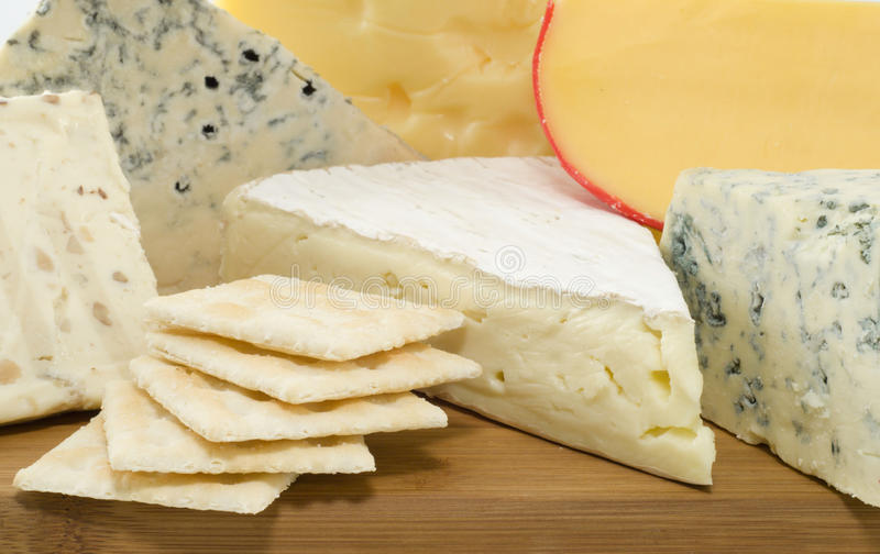 Cheese variates royalty free stock photos