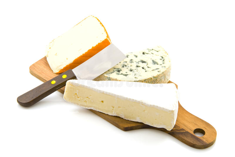 Cheeseboard photographie stock