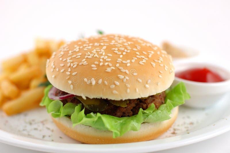 Cheeseburger images libres de droits