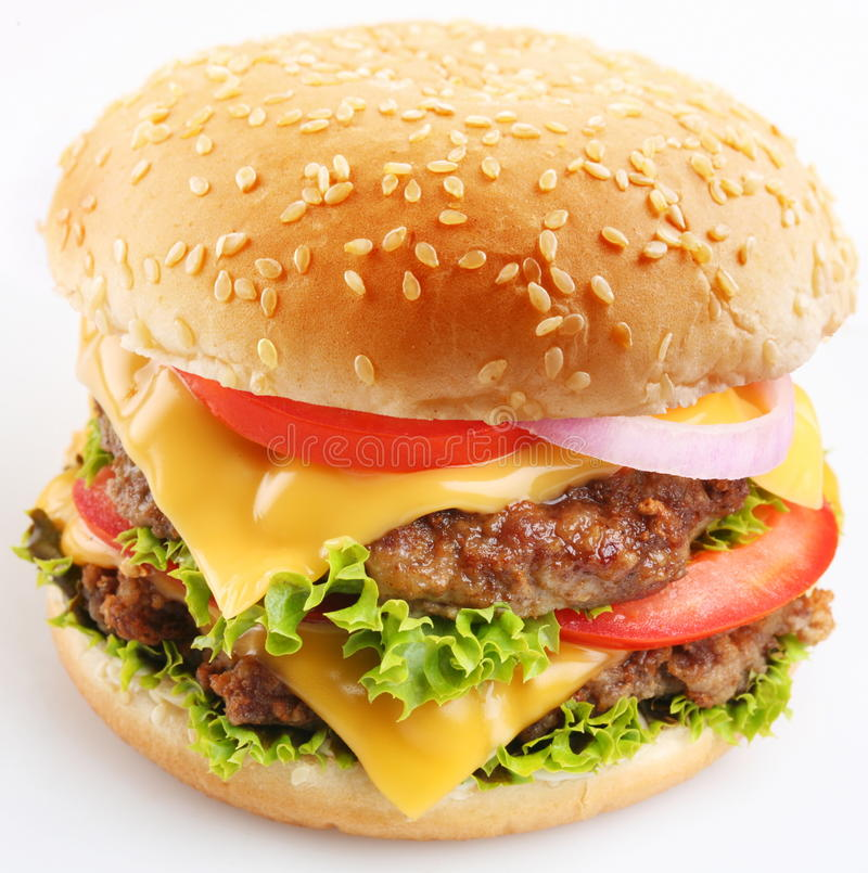 Free Cheeseburger Stock Photography - 12488852