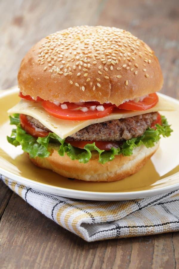 cheeseburger στοκ εικόνες με δικαίωμα ελεύθερης χρήσης