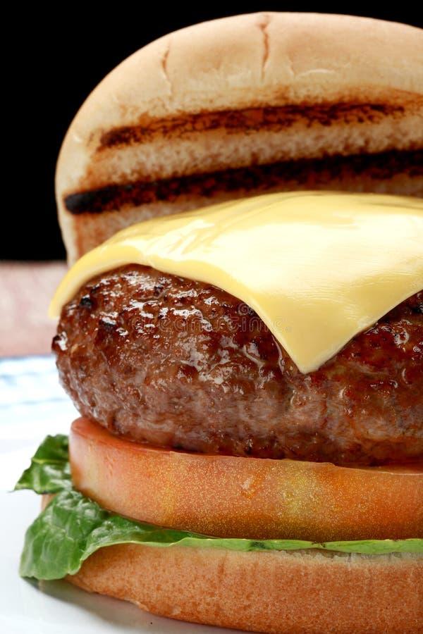 Cheeseburger immagine stock