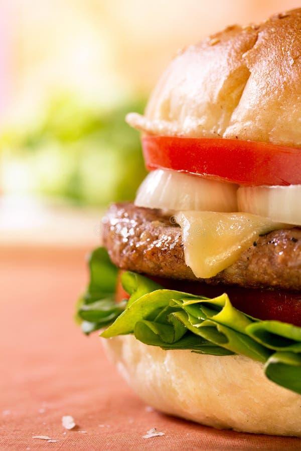 cheeseburger obraz royalty free