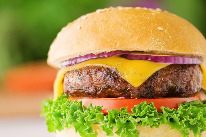 Cheeseburger stockfotografie