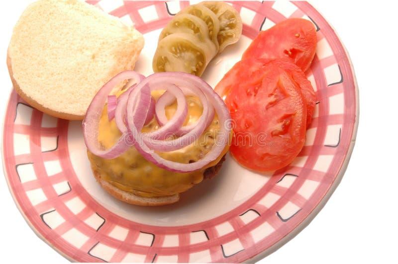 Cheeseburger Image stock