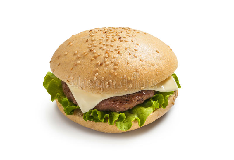 Cheeseburger zdjęcie stock