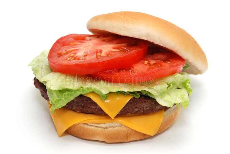 Cheeseburger images stock