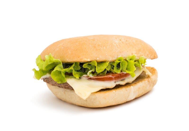 Download Cheeseburger obraz stock. Obraz złożonej z hamburgery - 57672819