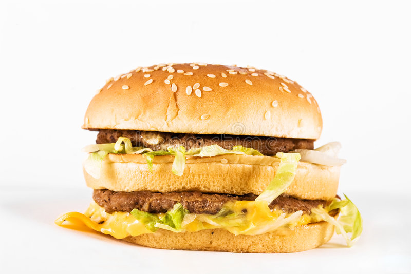 cheeseburger kopia zdjęcie royalty free