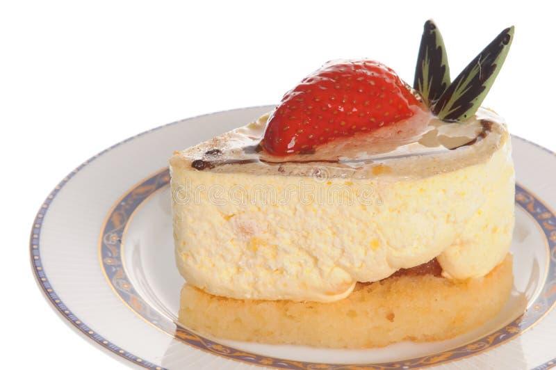 cheesecake εύγευστη φράουλα στοκ εικόνες με δικαίωμα ελεύθερης χρήσης