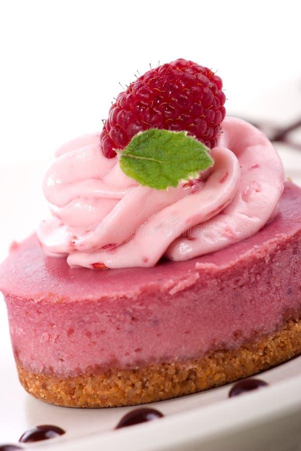 cheesecake σμέουρο στοκ φωτογραφία με δικαίωμα ελεύθερης χρήσης