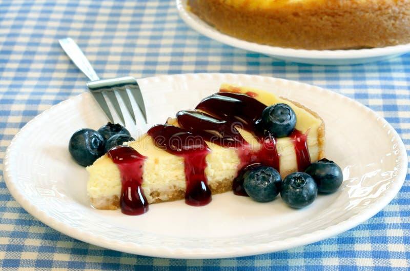 cheesecake голубик стоковое фото