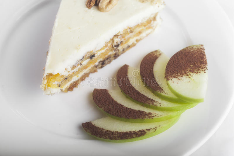Download Cheesecake stock image. Image of view, decoration, green - 25420103