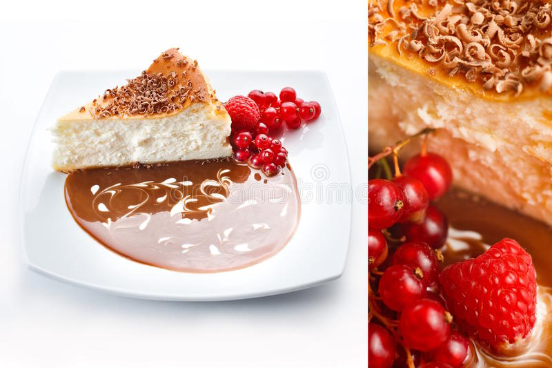 Download Cheesecake with Berries stock image. Image of cheesecake - 20795293